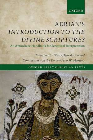Adrian's Introduction to the Divine Scriptures