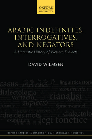 Arabic Indefinites, Interrogatives, and Negators imagine