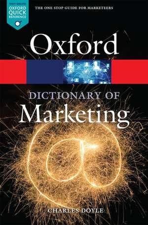 A Dictionary of Marketing de Charles Doyle