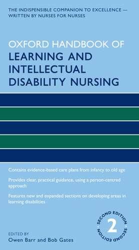 Oxford Handbook of Learning and Intellectual Disability Nursing de Owen Barr