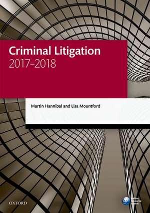 Criminal Litigation 2017-2018