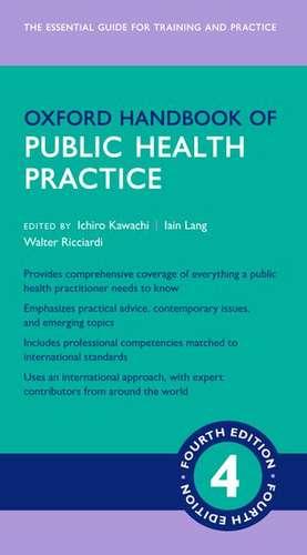 Oxford Handbook of Public Health Practice 4e de Ichiro Kawachi
