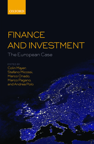 Finance and Investment: The European Case