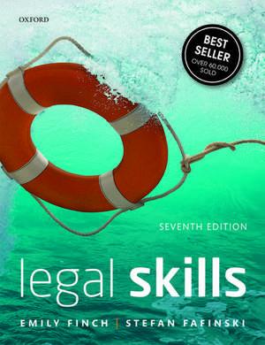 Legal Skills de Emily Finch