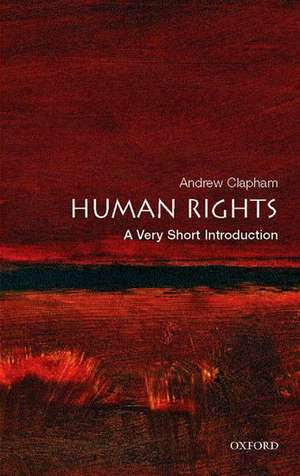 Human Rights: A Very Short Introduction de Andrew Clapham