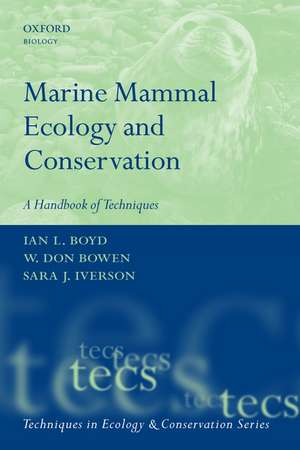 Marine Mammal Ecology and Conservation imagine