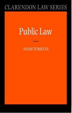 Public Law de Adam Tomkins