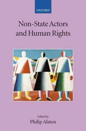 Non-State Actors and Human Rights de Philip Alston