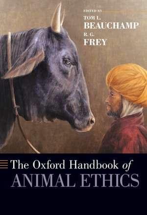 The Oxford Handbook of Animal Ethics de Tom L. Beauchamp