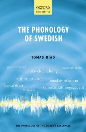 The Phonology of Swedish de Tomas Riad