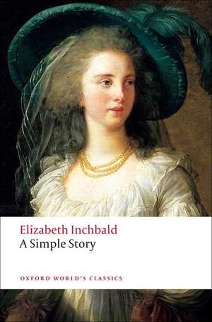 A Simple Story de Elizabeth Inchbald