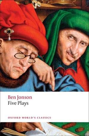 Five Plays de Ben Jonson