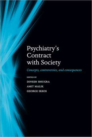 Psychiatry's contract with society