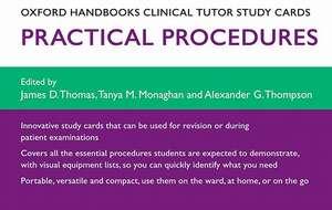 Oxford Handbooks Clinical Tutor Study Cards