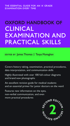 Oxford Handbook of Clinical Examination and Practical Skills de James Thomas