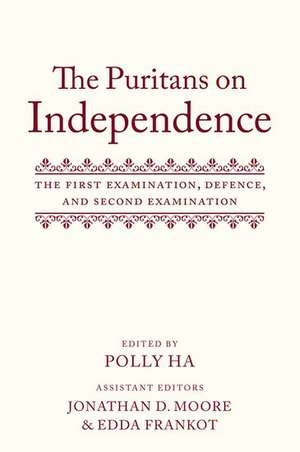 The Puritans on Independence