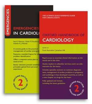 Oxford Handbook of Cardiology and Emergencies in Cardiology Pack de Punit Ramrakha