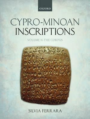Cypro-minoan Inscriptions  Volume 2