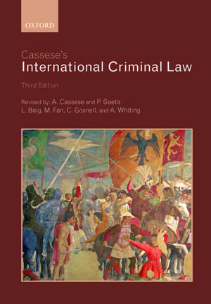 Cassese's International Criminal Law de Antonio Cassese