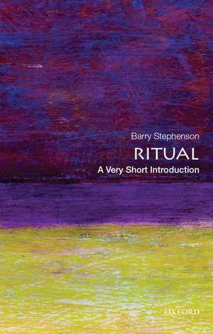Ritual: A Very Short Introduction de Barry Stephenson