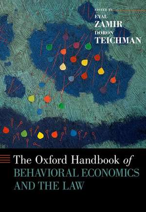 The Oxford Handbook of Behavioral Economics and the Law de Eyal Zamir