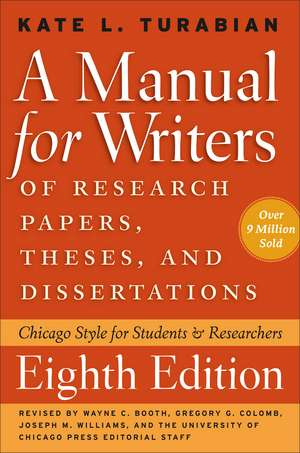 A Manual For Writers Of Research Papers  Theses  A