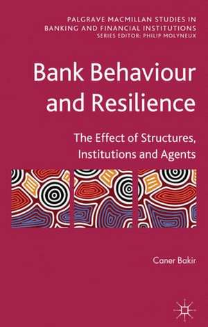 Bank Behaviour and Resilience imagine
