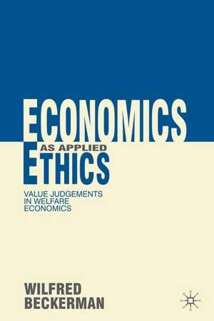 Economics as Applied Ethics imagine