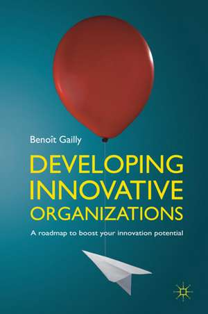Developing Innovative Organizations: A roadmap to boost your innovation potential de B. Gailly