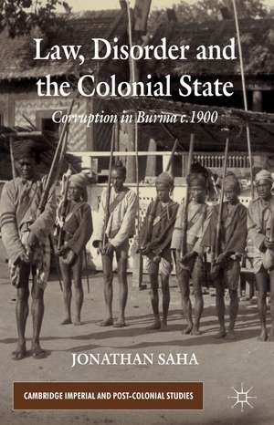 Law, Disorder and the Colonial State imagine