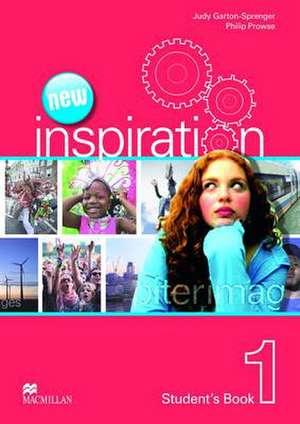 New Edition Inspiration Level 1 Student's Book de Judy Garton-Sprenger