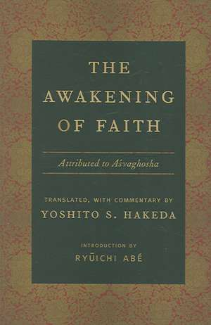 The Awakening of Faith de Yoshito Hakeda