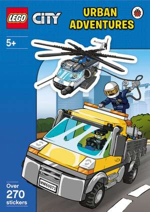 LEGO CITY: Urban Adventures Sticker Activity Book