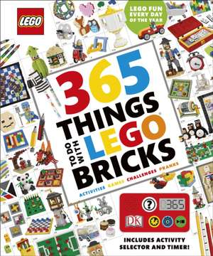 365 Things to Do with LEGO® Bricks: With activity selector and timer de DK