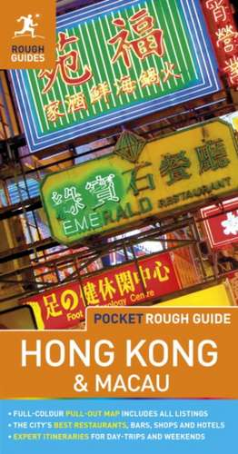 Pocket Rough Guide Hong Kong & Macau de Rough Guides