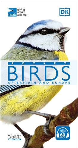 RSPB Pocket Birds of Britain and Europe imagine