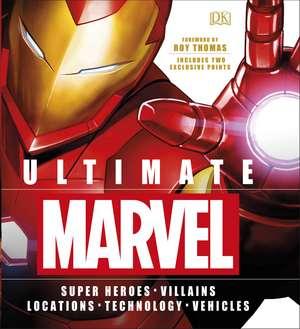 Ultimate Marvel: Includes two exclusive prints de Adam Bray