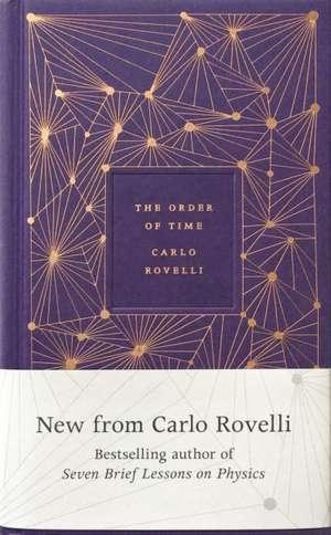 The Order of Time de Carlo Rovelli
