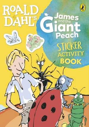 Roald Dahl's James and the Giant Peach Sticker Activity Book de Roald Dahl