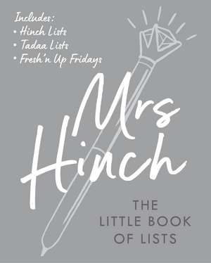 Mrs Hinch: The Little Book of Lists imagine