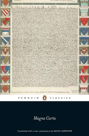 Magna Carta de Prof David Carpenter