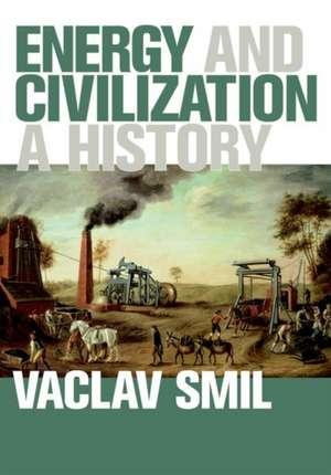 Energy and Civilization – A History de Vaclav Smil