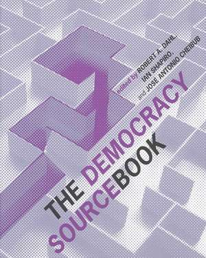 The Democracy Sourcebook de Robert A. Dahl