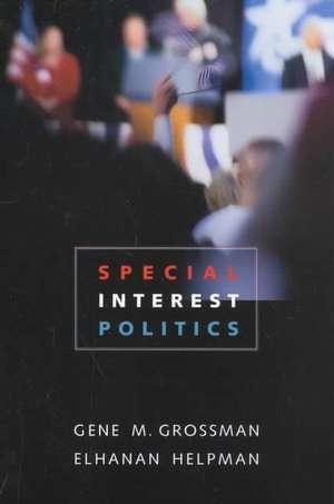 Special Interest Politics de Gene M Grossman