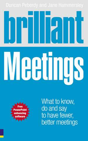 Brilliant Meetings de Duncan Peberdy