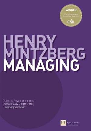 Managing de Henry Mintzberg