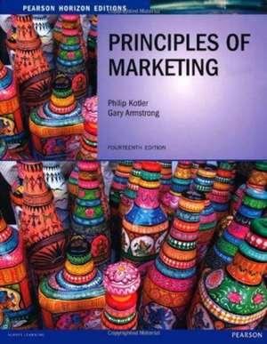 Principles of Marketing: Horizon Edition de Philip Kotler