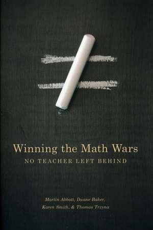 Winning the Math Wars