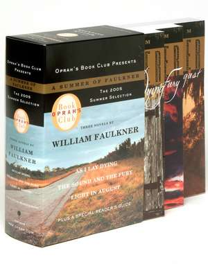 Oprah's Book Club 2005 Summer Selection a Summer of Faulkner:  As I Lay Dying/The Sound and the Fury/Light in August de William Faulkner