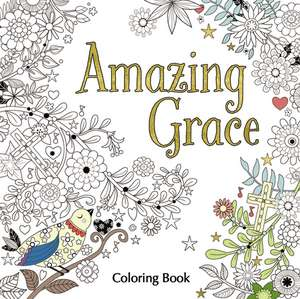 Amazing Grace Adult Coloring Book de Zondervan
